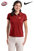 Nike Golf - Ladies' Dri-FIT Pebble Texture Polo - Red