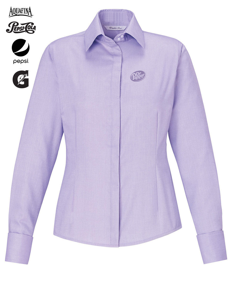 Refine ladies 39 blue wrinkle free 2 ply 80 39 s cotton royal for 2 ply cotton shirts