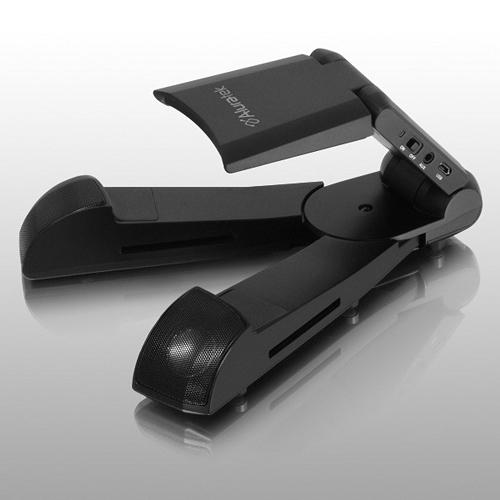 bluetooth wireless speaker tablet stand. Black Bedroom Furniture Sets. Home Design Ideas