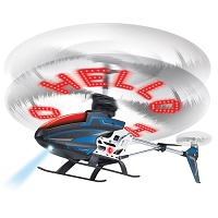 The Personalized Message RC Helicopter