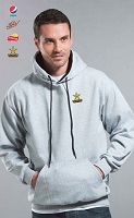 Two Tone Hooded Sweater - Grey