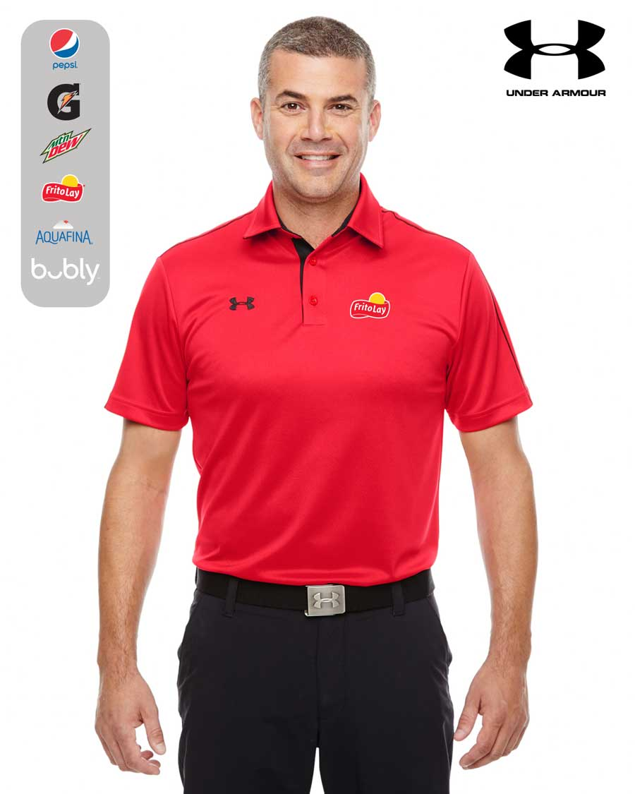 Men 39 s under armour tech polo for Under armour men s shirts clearance