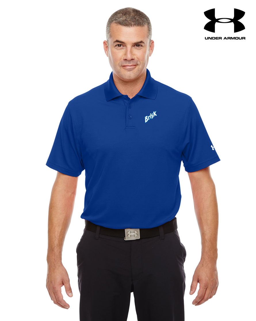 Men 39 s under armour corp performance polo for Bulk under armour shirts