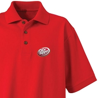 Men's Desert Sands Golf Shirt - Dr. Pepper