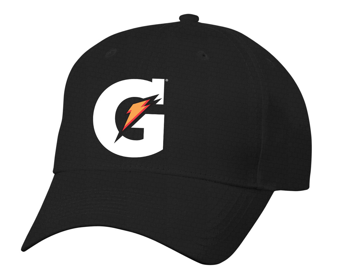 Gatorade Diamond Pattern Dri Fit Cap - Black