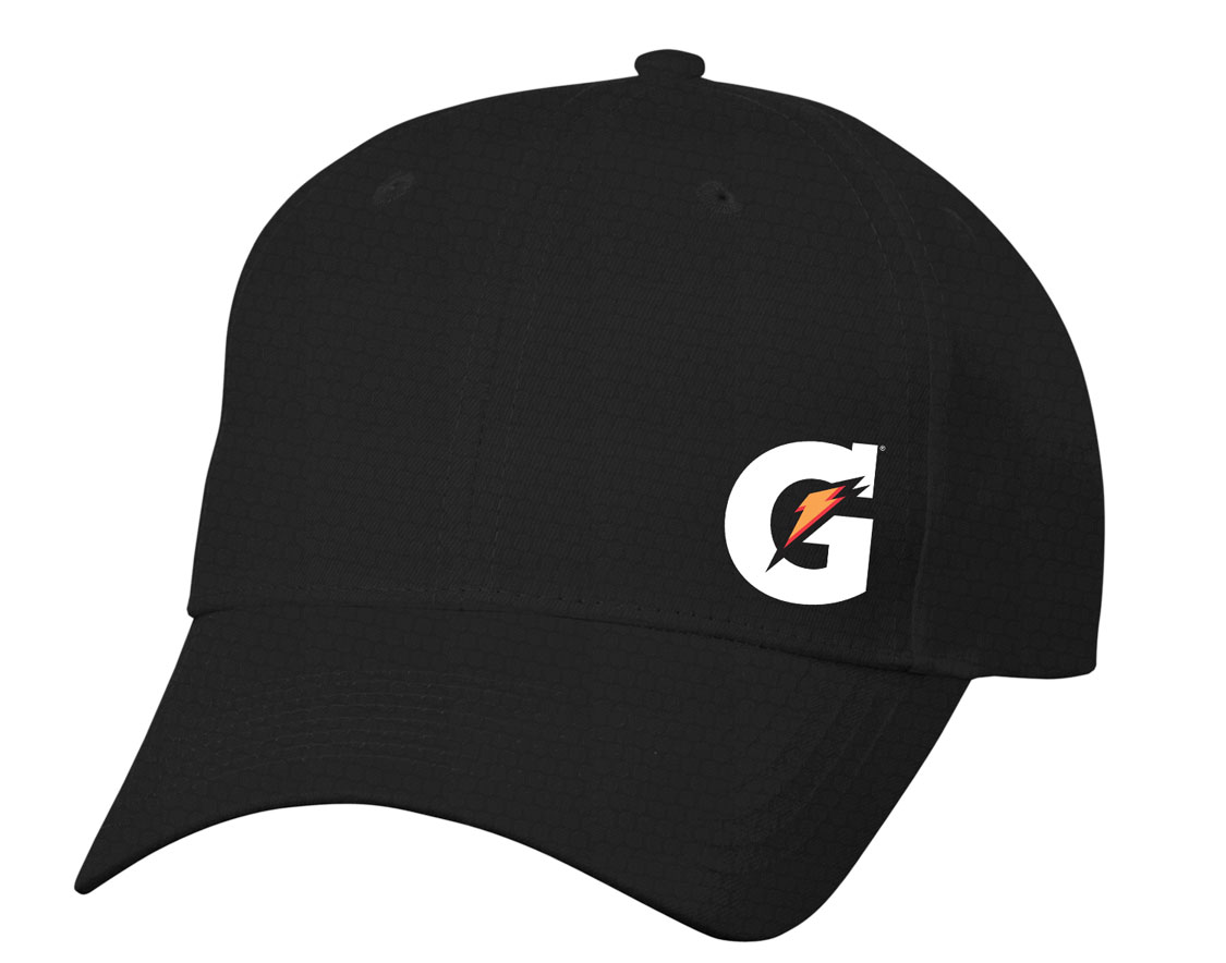 Gatorade Diamond Pattern Dri Fit Cap (SM) - Black