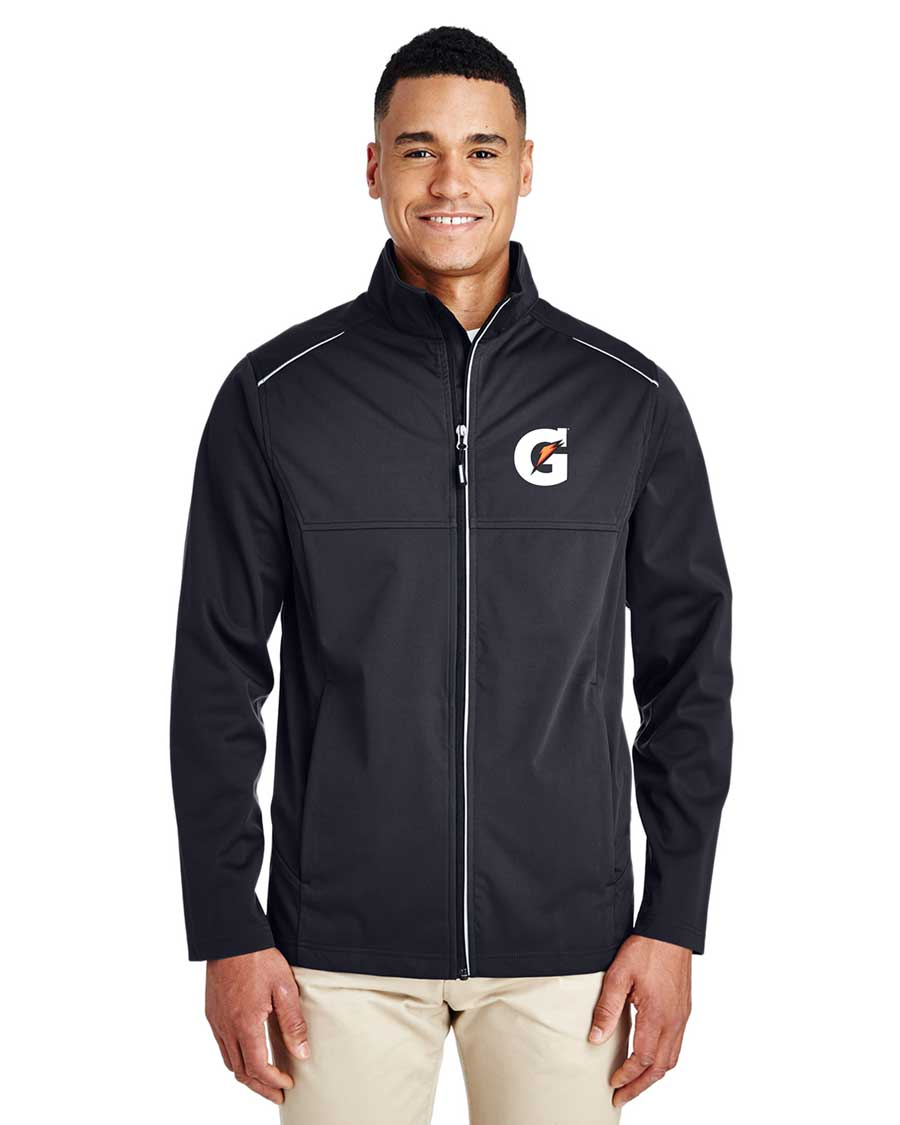 Men's Techno Lite Three-Layer Knit Tech-Shell - Gatorade