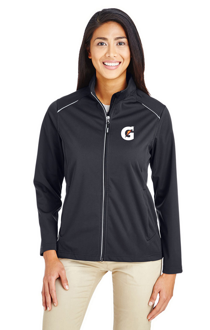 Ladies' Techno Lite Three-Layer Knit Tech-Shell Jacket - Gatorade