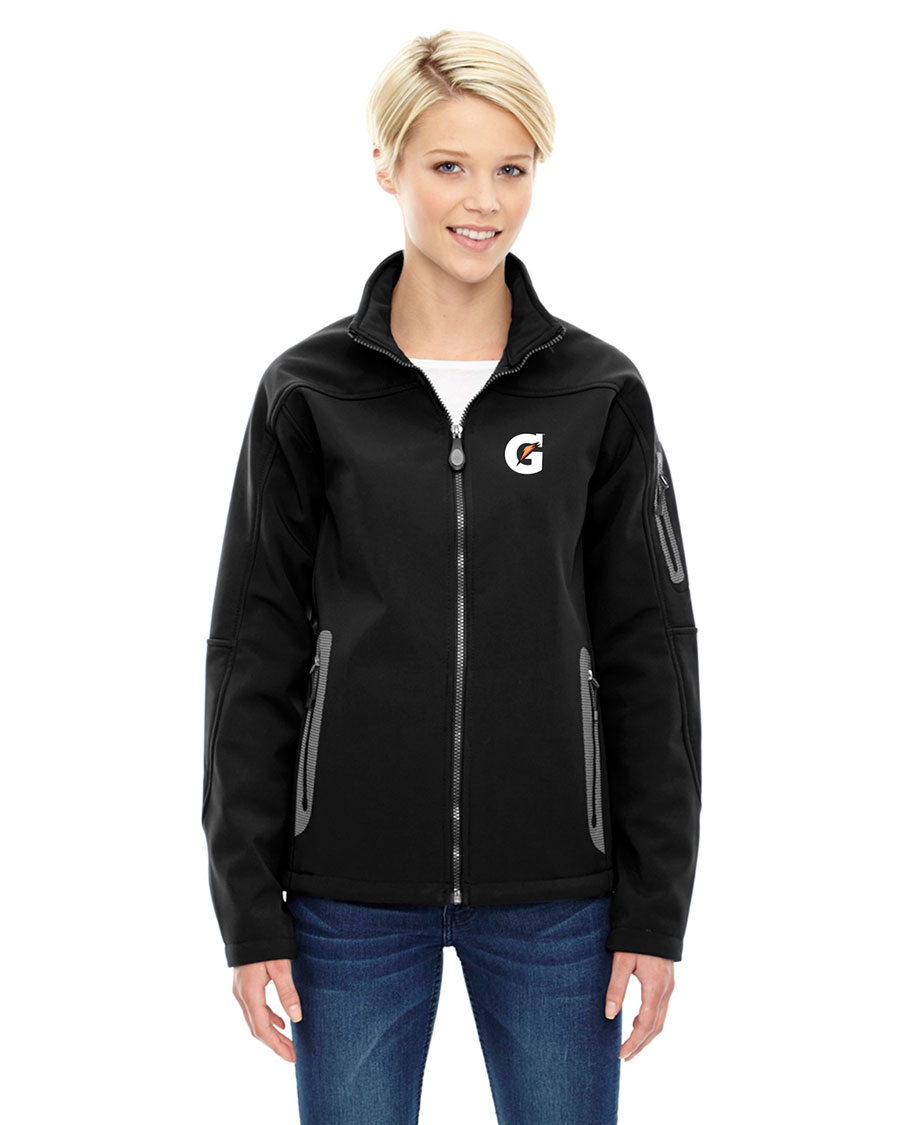 Ladies' Three-Layer Fleece Bonded Soft Shell Technical Jacket - Gatorade