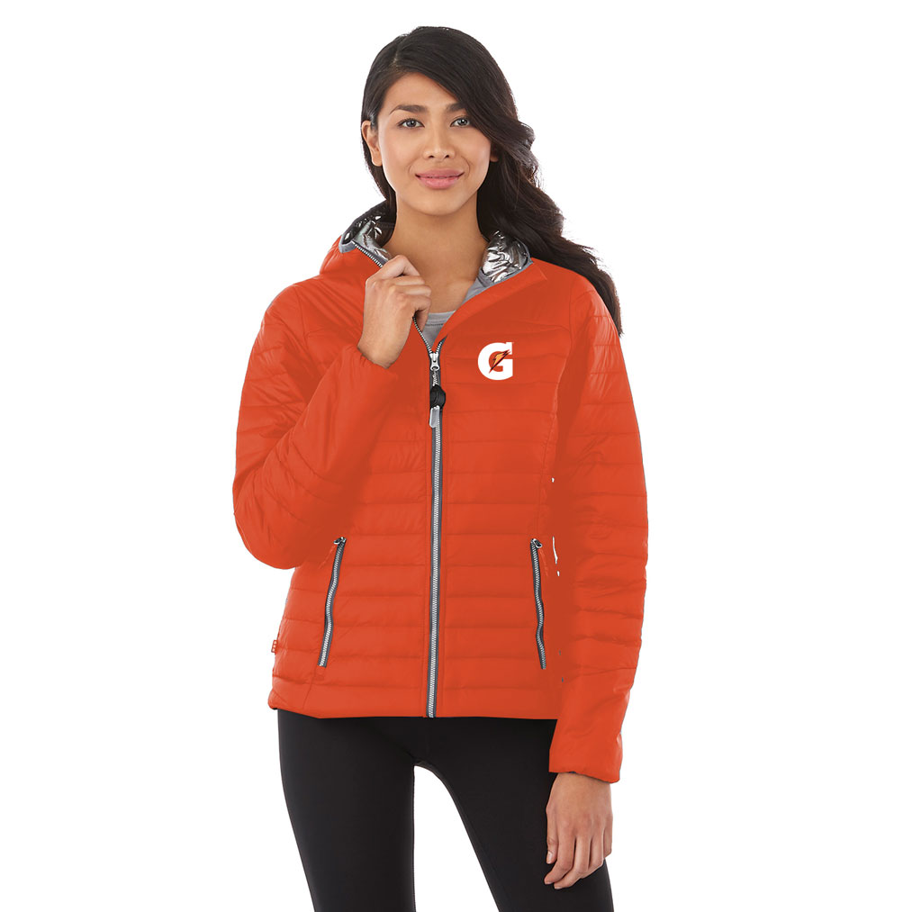Ladies Silverton Packable Insulated Jacket - Gatorade