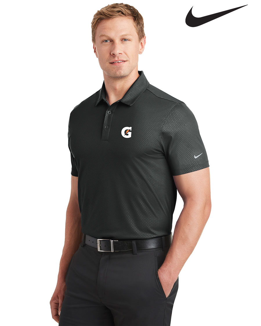 Nike Golf Men's Dri-FIT Embossed Tri-Blade Polo - Gatorade