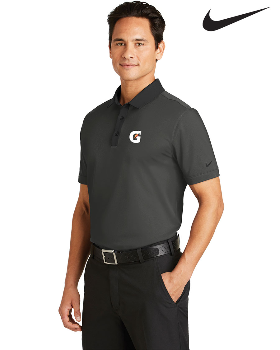Nike Golf Men's Dri-FIT Heather Pique Modern Fit Polo - Gatorade