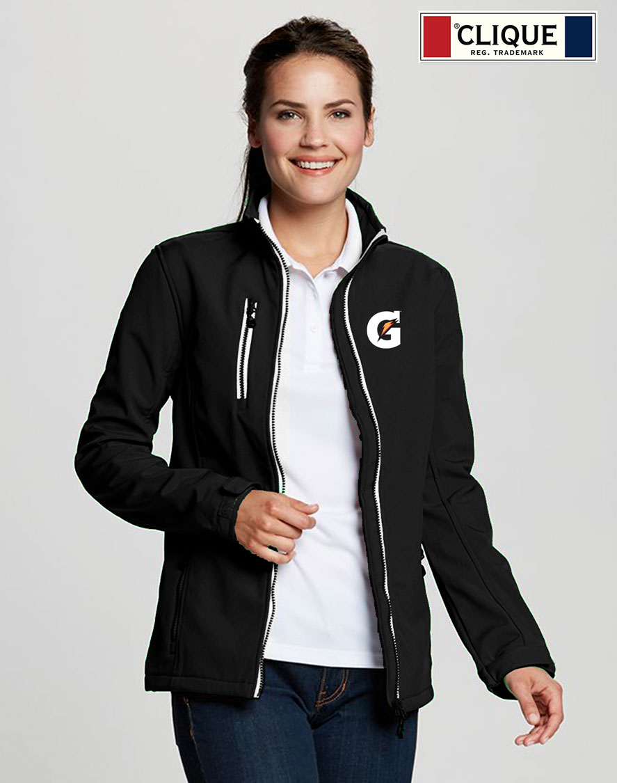 Clique Ladies' Telemark Softshell Jacket - Gatorade