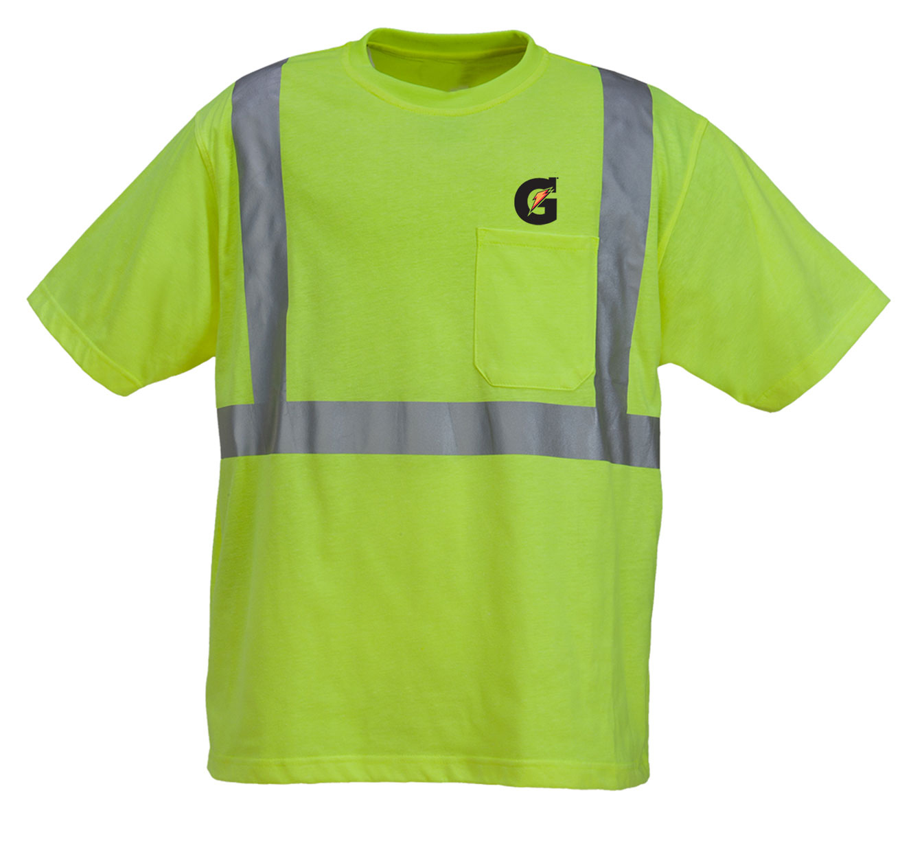 High Visibility Poly Cotton Knitted Jersey T Shirt With