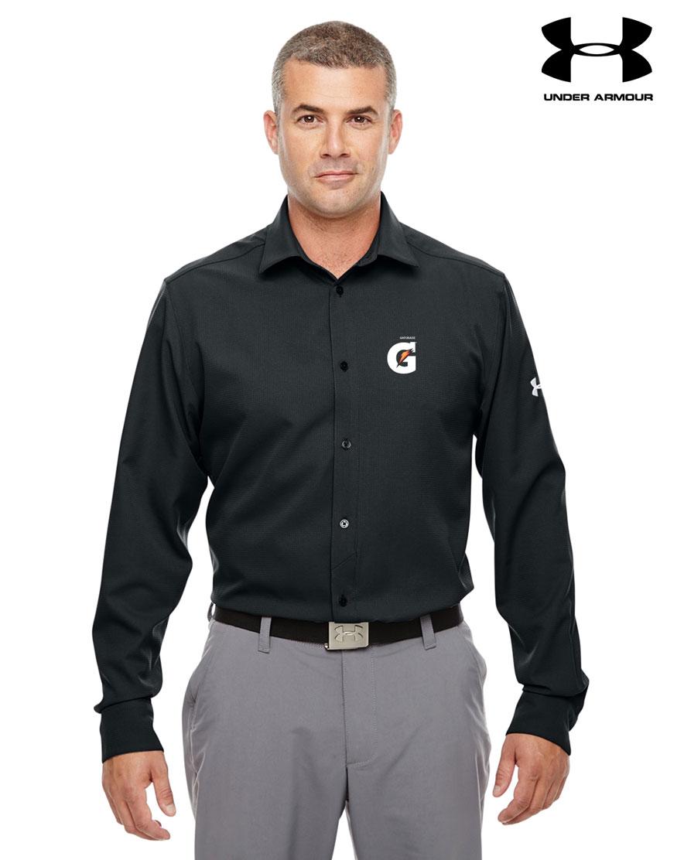 Men 39 s under armour ultimate long sleeve buttondown shirt for Bulk under armour shirts