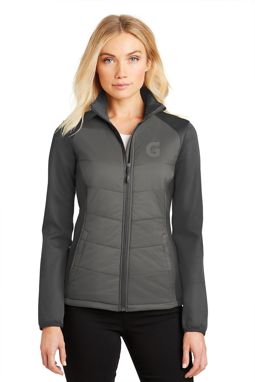 Ladies Hybrid Soft Shell Jacket - Gatorade