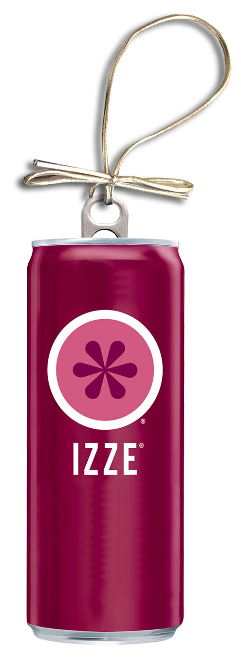 IZZE Holiday Can Ornament