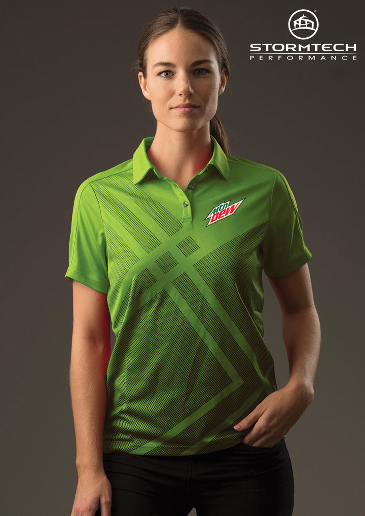 Women's Reflex Polo - MTN Dew