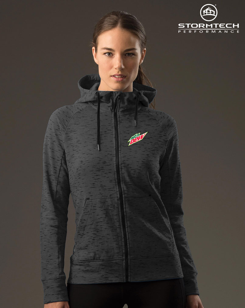 Women's Cascade Fleece Hoody - MTN Dew