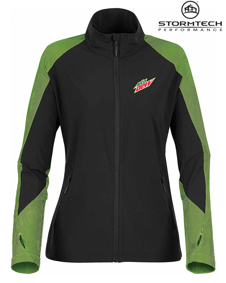 Women's Octane Lightweight Shell Jacket- MTN Dew
