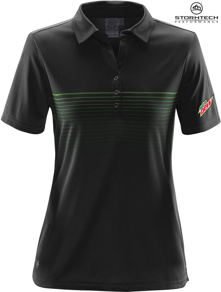 Women's Wavelength Polo - MTN Dew