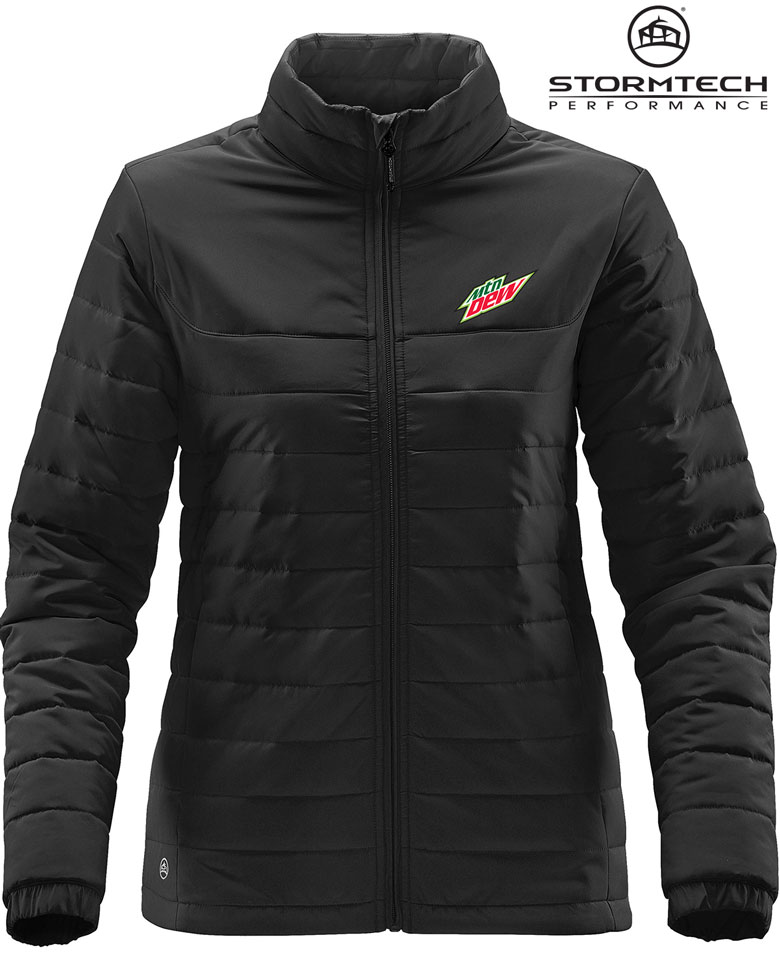 Women's Nautilus Quilted Jacket - MTN Dew