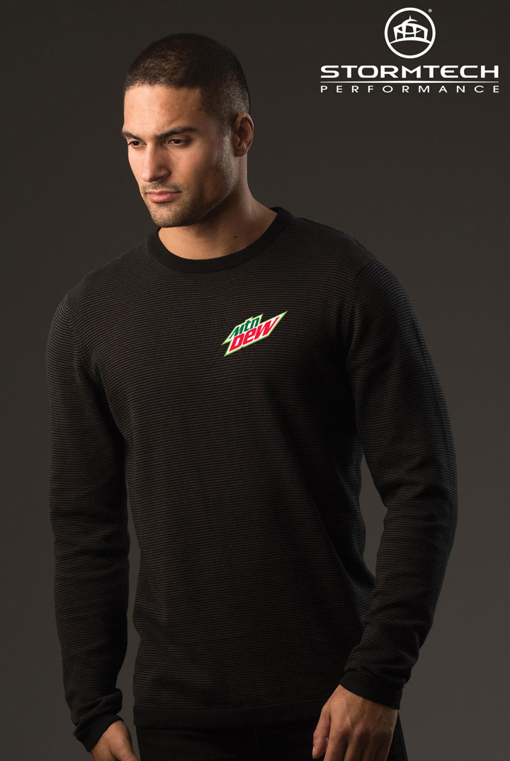 Men's Horizon Sweater - MTN Dew