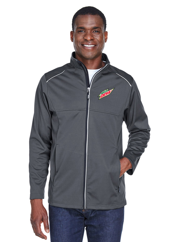 Men's Techno Lite Three-Layer Knit Tech-Shell - MTN Dew