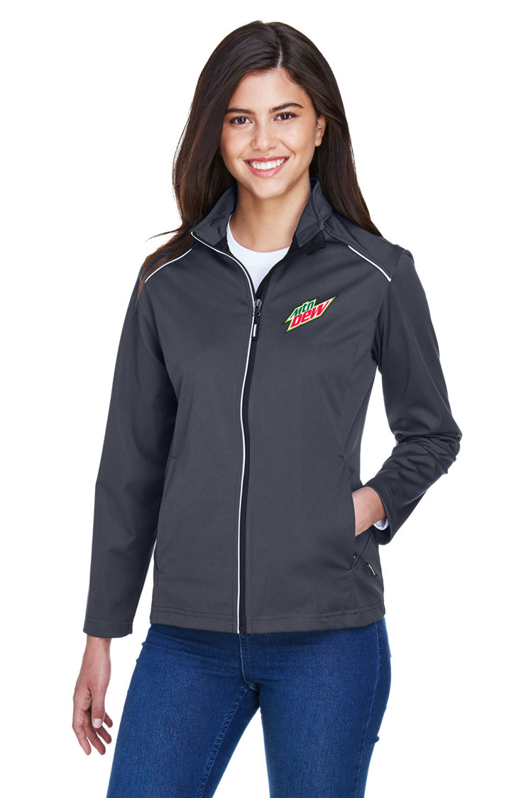 Ladies' Techno Lite Three-Layer Knit Tech-Shell Jacket - MTN Dew