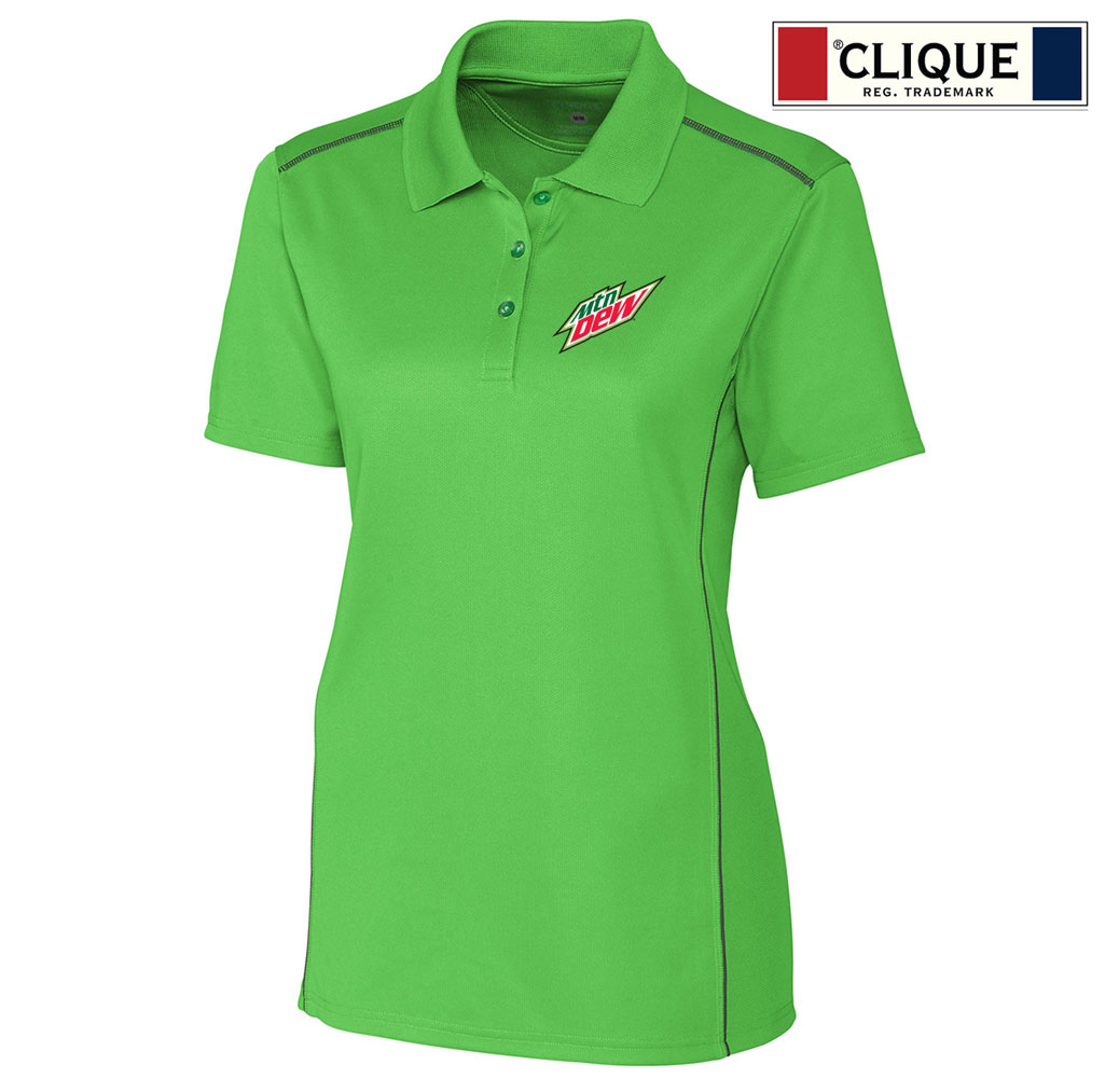 Clique Ladies' Ice Sport Lady Polo - MTN Dew