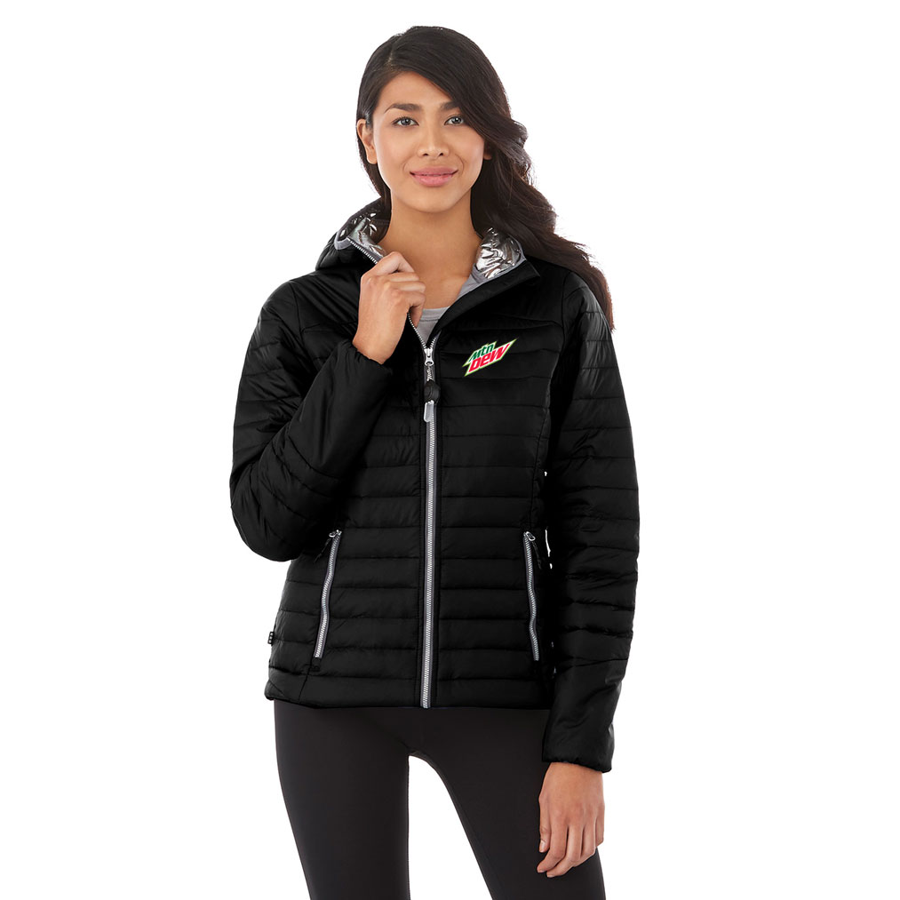 Ladies Silverton Packable Insulated Jacket - MTN Dew