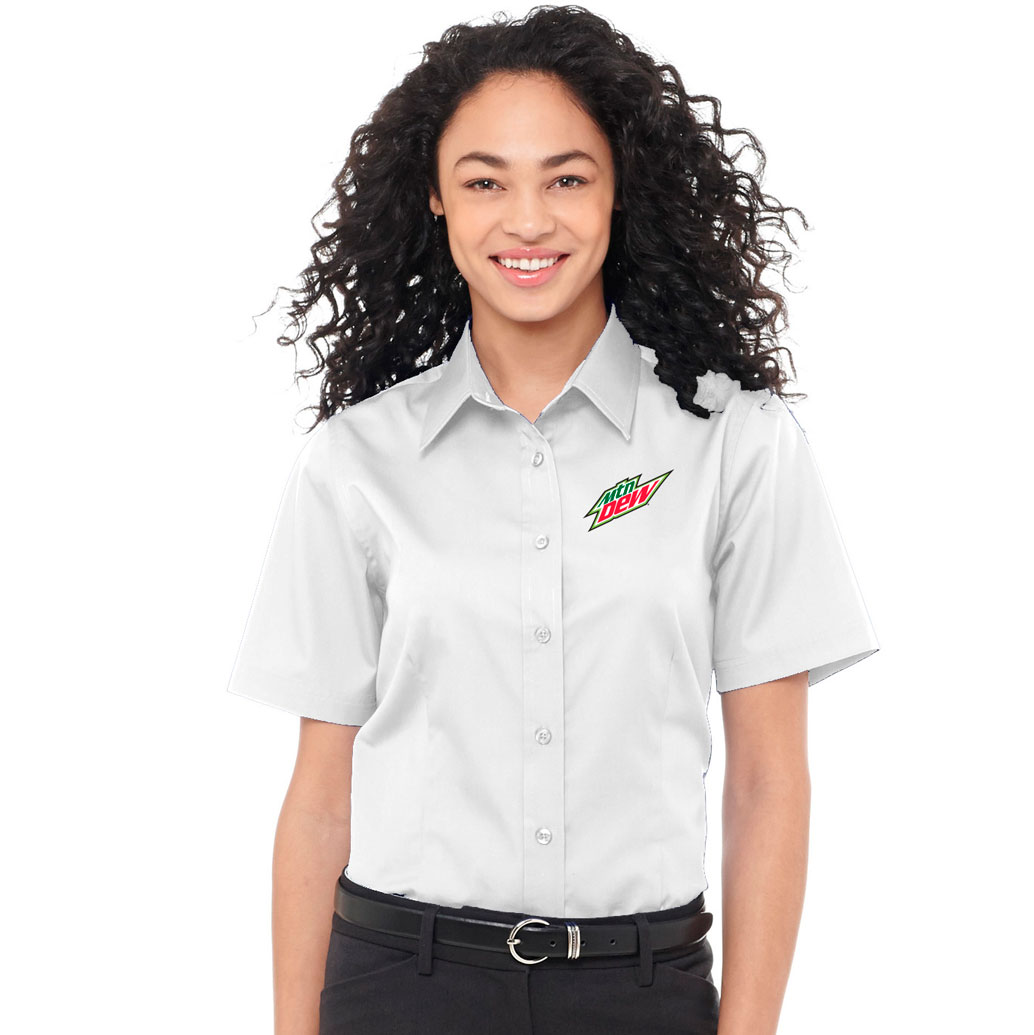 Ladies Stirling SS Shirt - MTN Dew