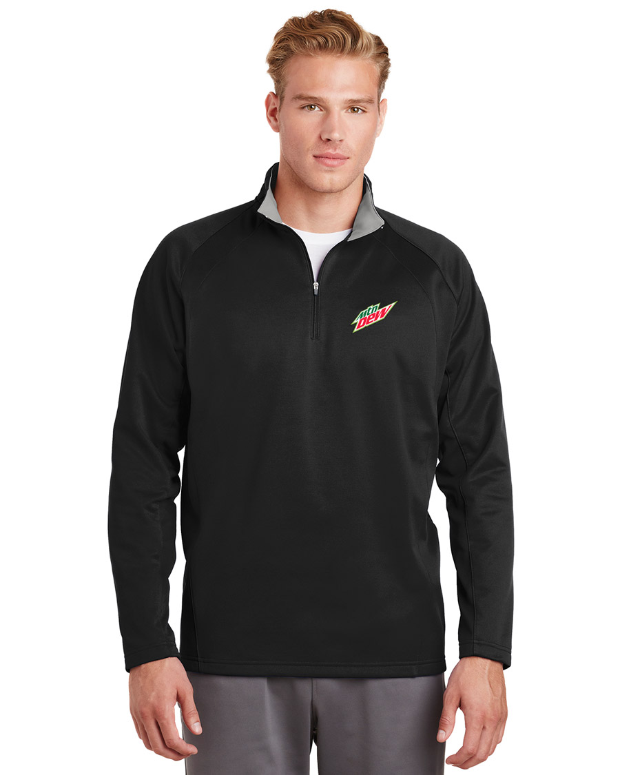 Men's Sport-Wick® Fleece 1/4-Zip Pullover - MTN Dew