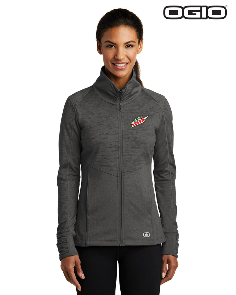 OGIO® ENDURANCE Ladies Sonar Full-Zip - MTN Dew
