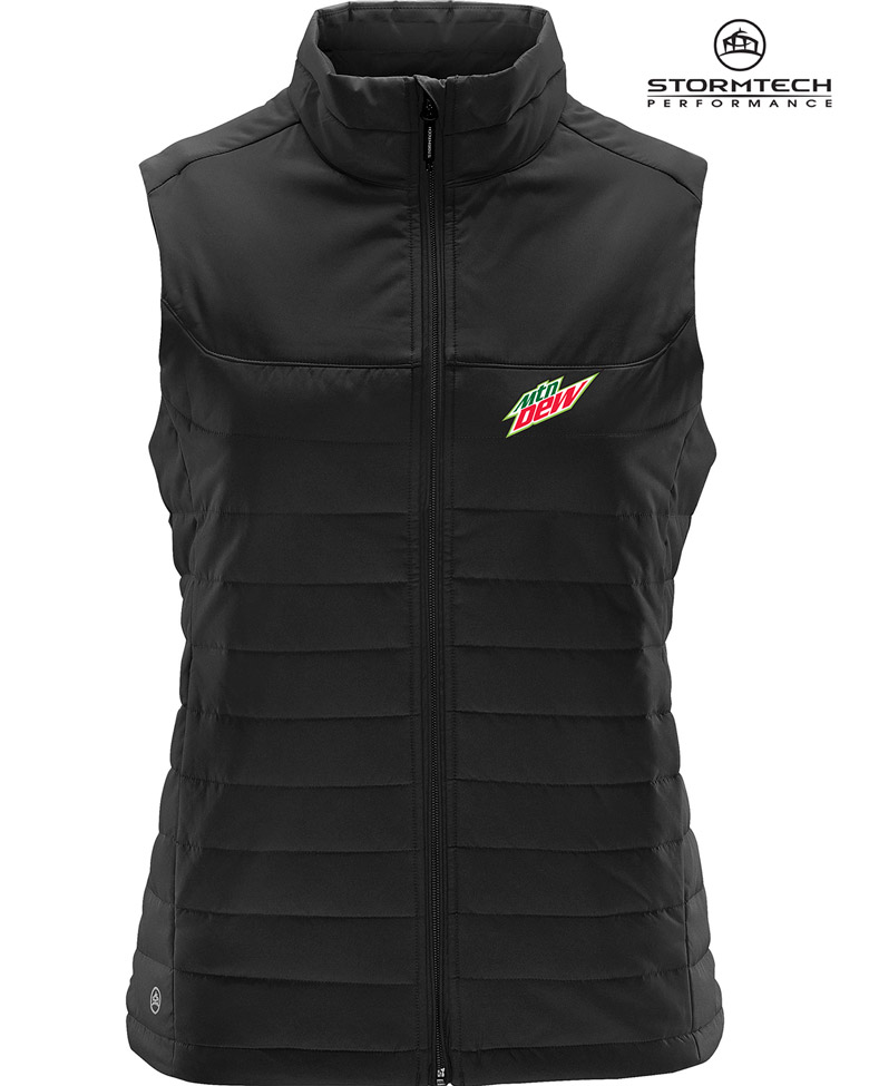 Ladies' NAUTILUS QUILTED VEST - MTN Dew