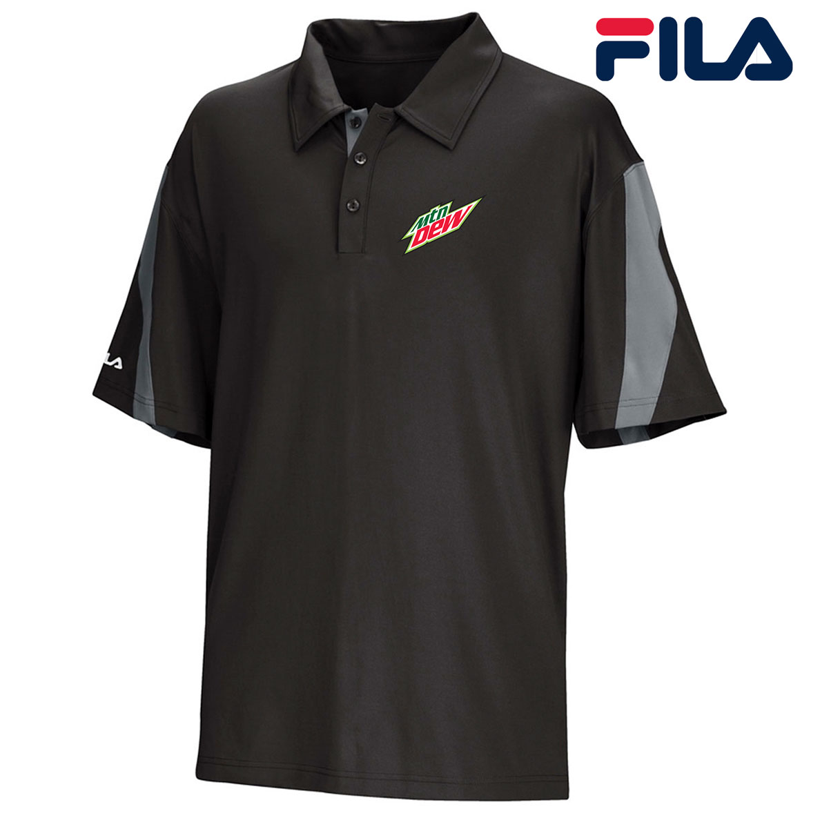 FILA Men's Scottsdale Polo - MTN Dew