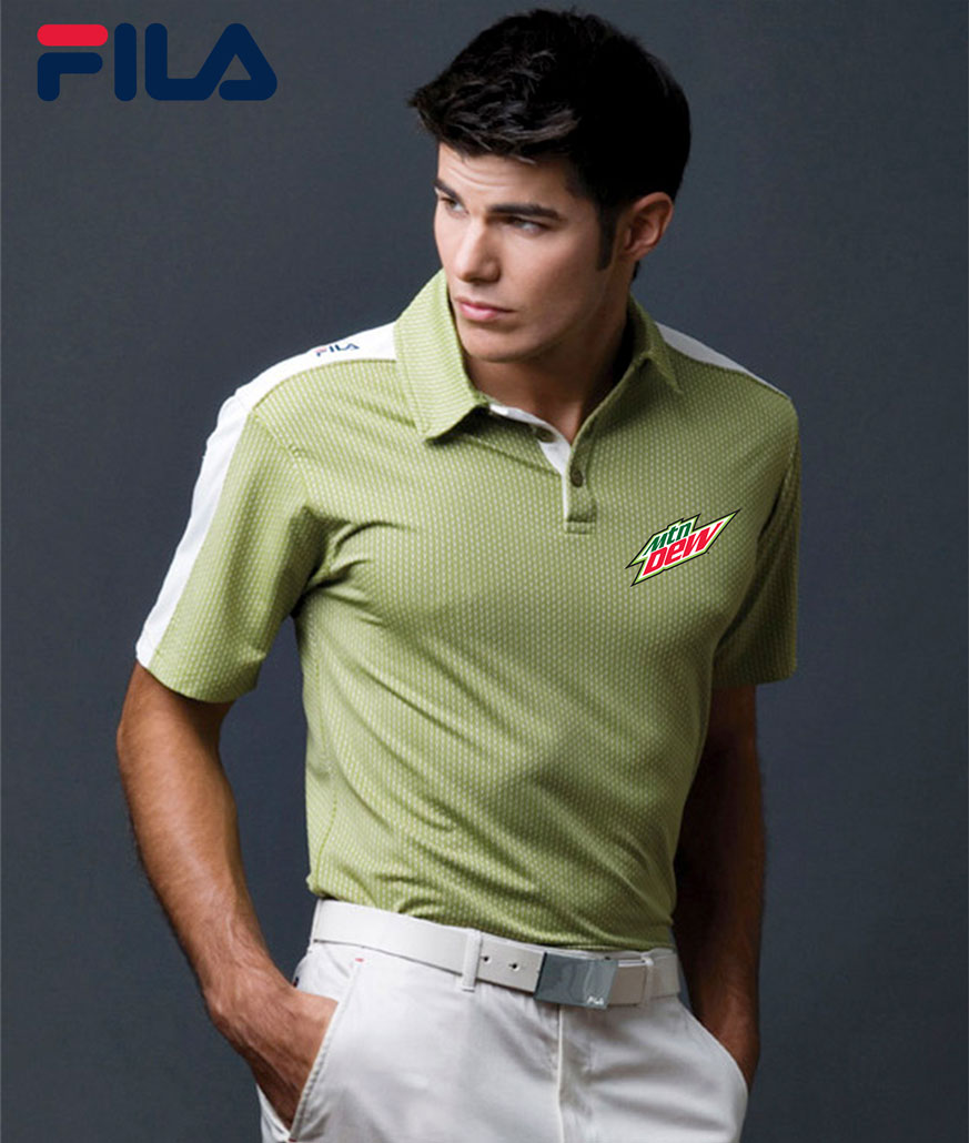 FILA Men's Palermo Polo - MTN Dew