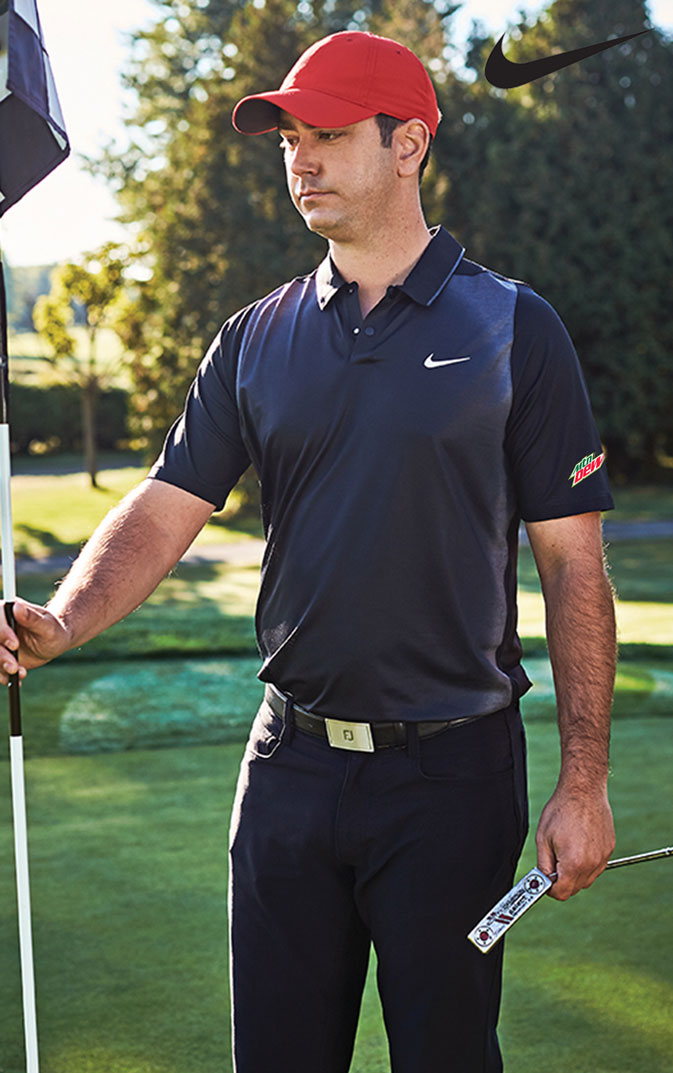 Nike TW velocity max mesh framing polo - MTN Dew