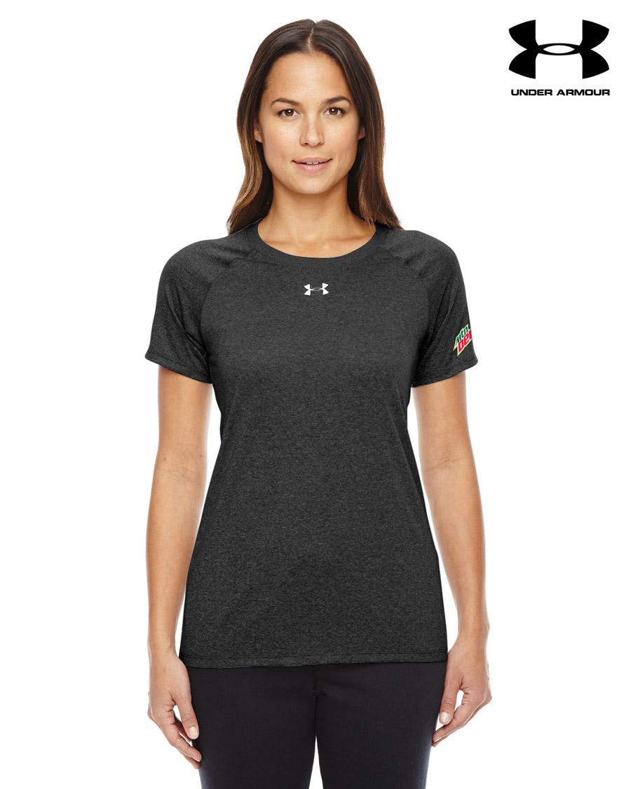 Ladies 39 under armour locker t shirt for Bulk under armour shirts