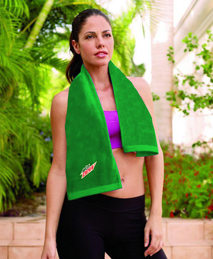 Signature Workout Towel - MTN Dew