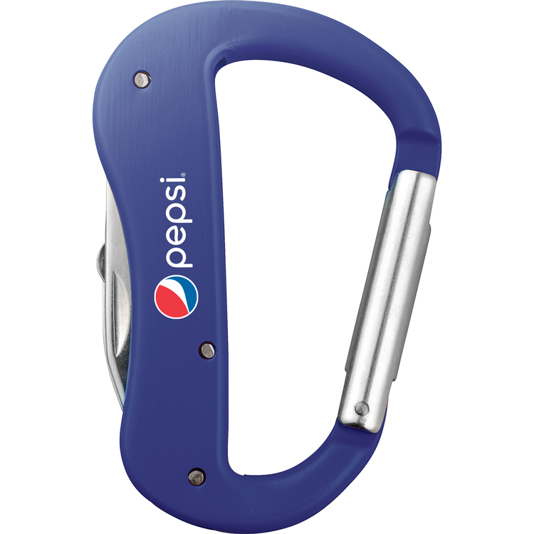 Canyon 5 Function Carabiner Knife Pepsi