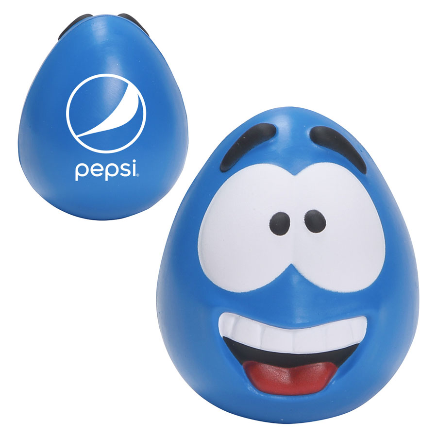 Happy Face Slo-Release Serenity Squishy - Pepsi