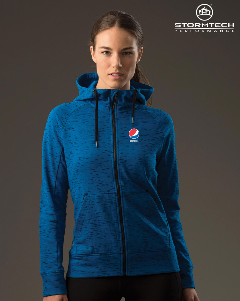 Women's Cascade Fleece Hoody - Pepsi