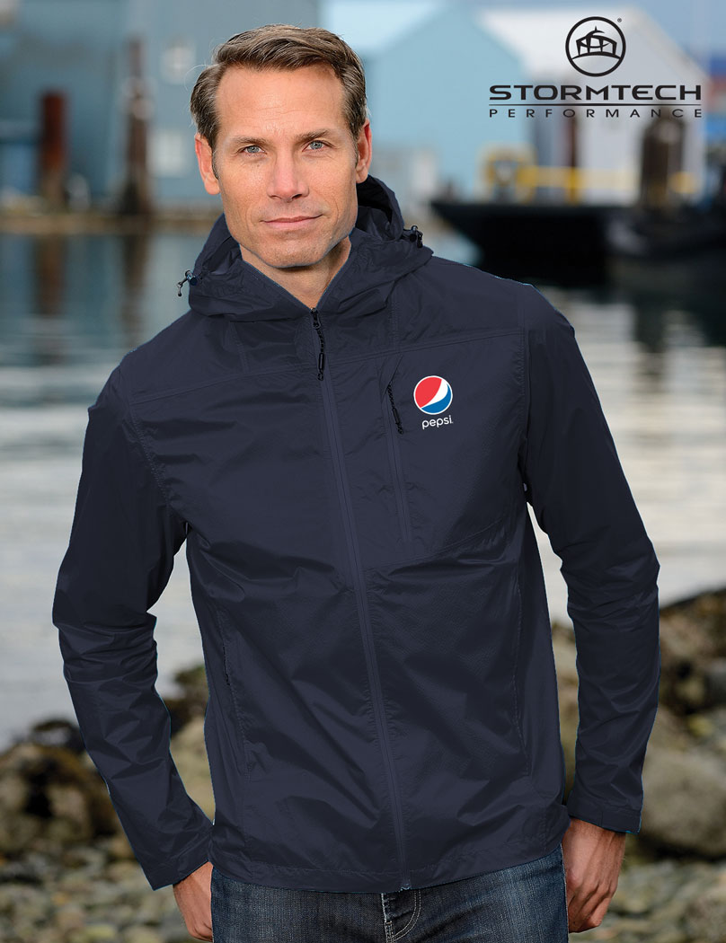 Men's Neutrino Shell Jacket - Pepsi