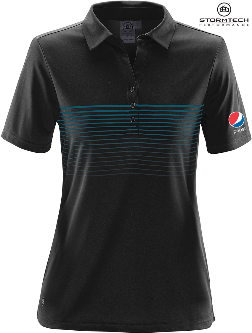 Women's Wavelength Polo - Pepsi