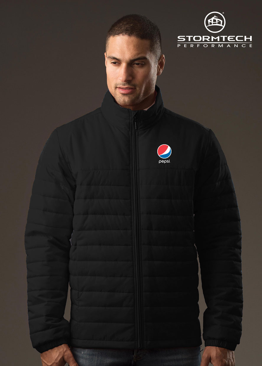 Men's Nautilus Quilted jacket - Pepsi