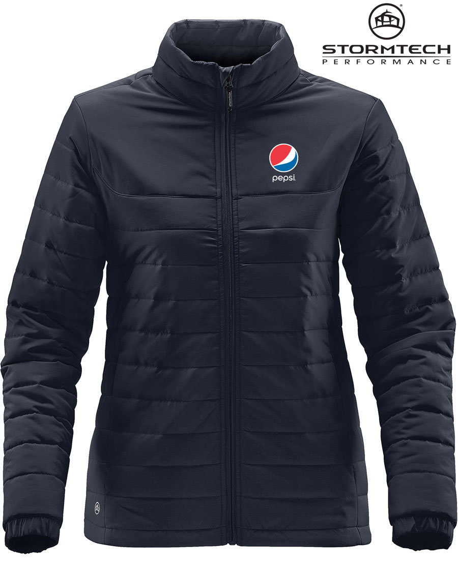 Women's Nautilus Quilted Jacket - Pepsi
