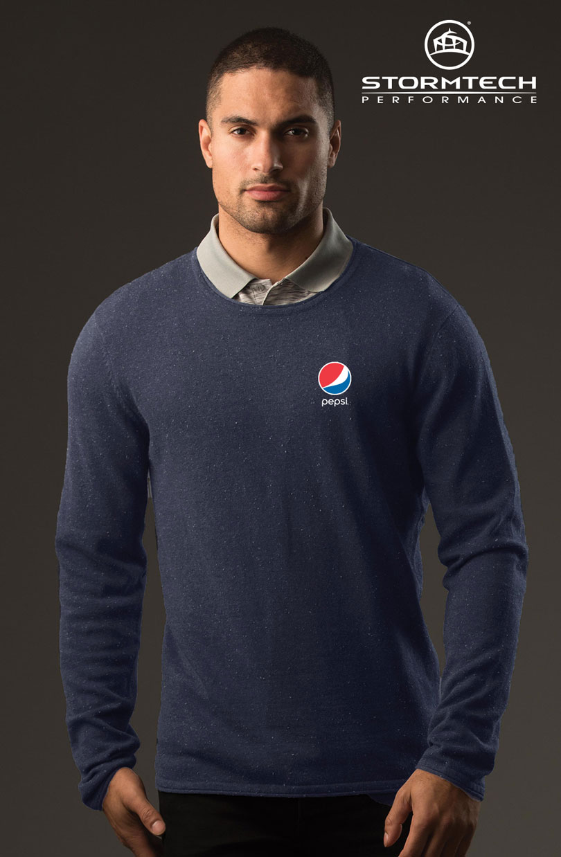 Men's Zermatt Sweater - Pepsi