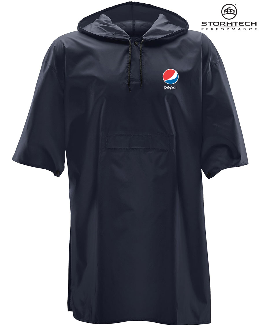 Torrent Snap Fit Poncho - Pepsi