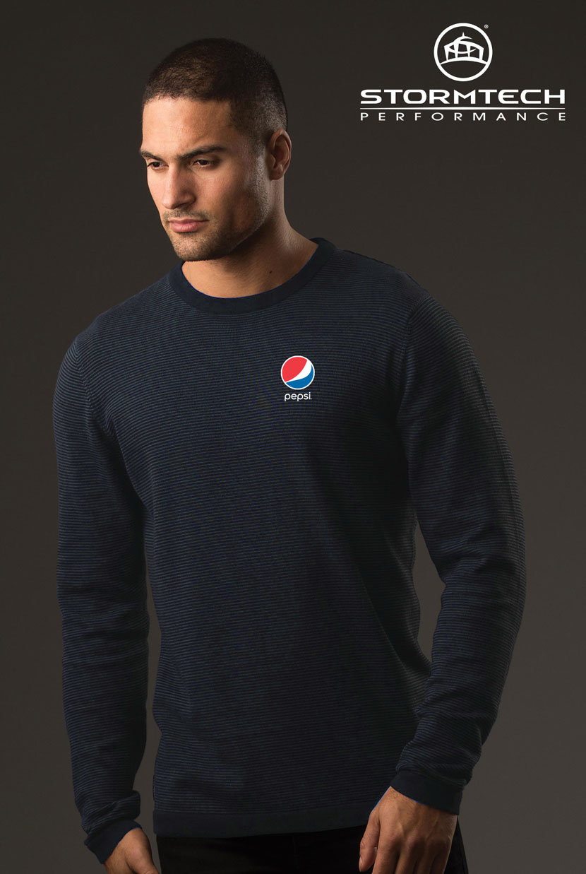 Men's Horizon Sweater - Pepsi
